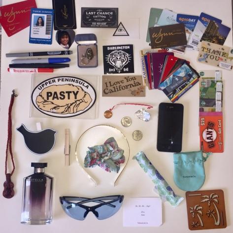 Bag bin contents